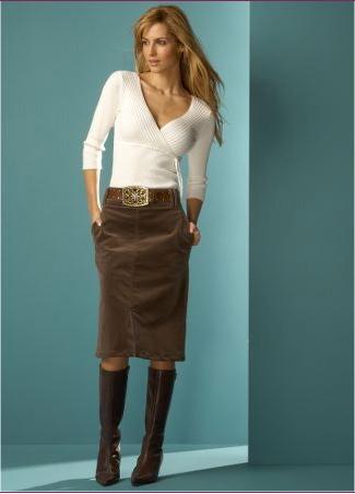 Mink Cord Skirt wit#3F4698.tiff Tiff